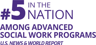 Fact Fact: #5 In the Nation Among Advanced Social Work Programs, U.S. News & World Report