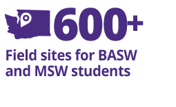 Fact Fact: 600+ Field Sites for BASW and MSW Students