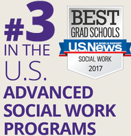 Fact Fact: UW Social Work is #3 in the U.S. in Advanced Social Work Program (U.S. News and World Report Magazine, Best Grad Schools, Social Work, 2017)
