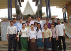 Laos and Rupp faculty