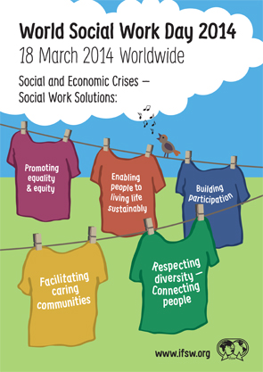 sociwork day poster english